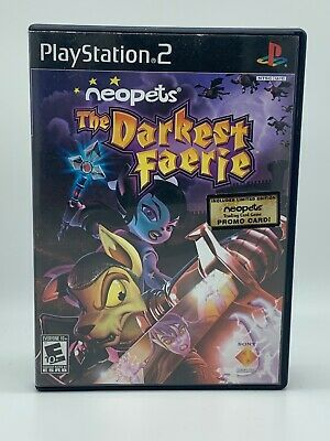 Details About Neopets The Darkest Faerie Playstation 2 2005