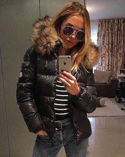 Como No.1 Daunenjacke 4 Seasons echte Daune Schwarz Jacke Mode Fashion Trend NEU