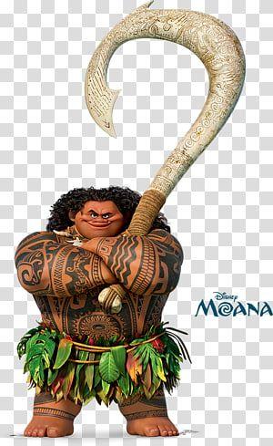 Maui From Disney Moana Maui Hei Hei The Rooster The Walt Disney Company Maui Crab Fry Transparent Background Png Clipart Maui Moana Moana Moana Party