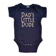 b372f6914470 Newborn Boy Bodysuit Matching Dad Son