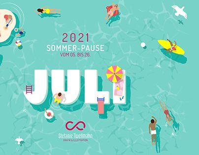 SOMMER-PAUSE // Eigenprojekt // Holidays