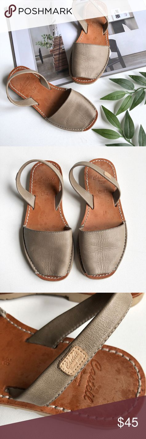c96183922e3c Castell Avarcas Leather Menorcan Sandals Castell Avarcas Leather Menorcan  Sandals. Made in Brazil. Soft