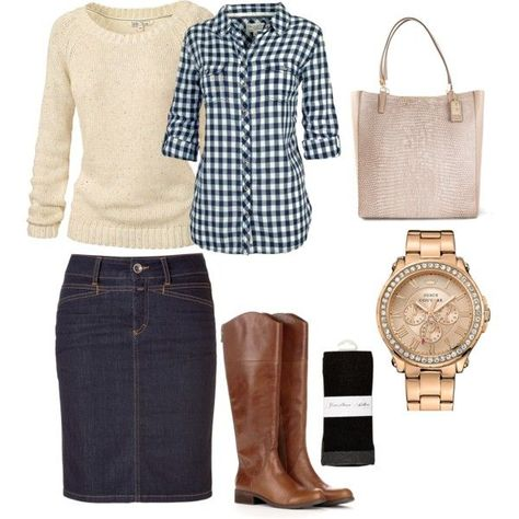 7 nice denim outfit ideas for women - Page 4 of 7 - women-outfits.com