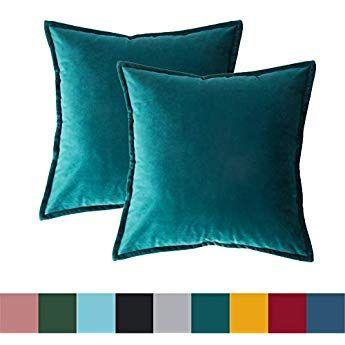 Riva Paoletti Fiesta Rectangular Feather Filled Cushion Blue Pink