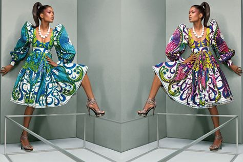 La Princessa World: Vlisco, The Face of African Haute Couture