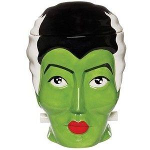 Sourpuss Bride of Frankenstein Cookie Jar
