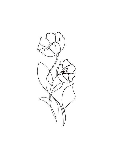 Flower Lines Poster in der Gruppe Poster & Prints / Illustrations bei Desenio . - Flower Lines Poster in der Gruppe Poster & Prints / Illustrations bei Desenio … – - Line Art Tattoos, Cute Tattoos, Small Tattoos, One Line Tattoo, Small Flower Tattoos, Girl Tattoos, Tatoos, Diy Tattoo, Poster Collage