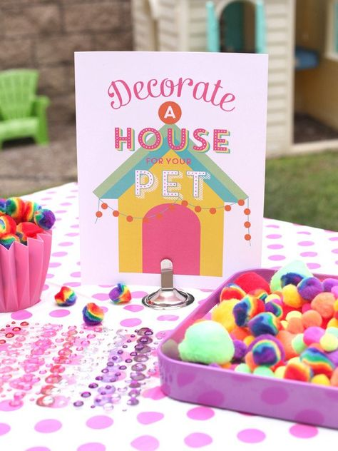 Adopt A Pet Birthday Party Printables
