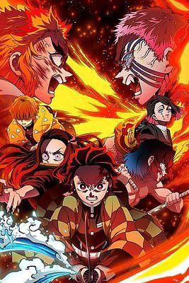 Demon Slayer The Movie Mugen Train 2020 By Geek N Rock In 2020 Anime Demon Slayer Anime