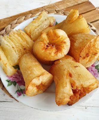Singkong Goreng Mekar Makanan Resep Resep Makanan