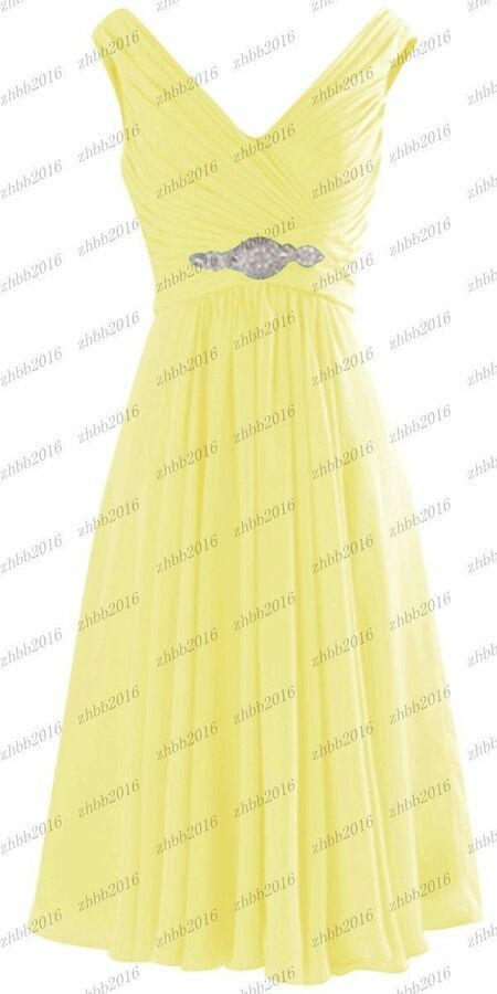 New Short Bridesmaid Formal Cocktail Party Prom Dresses Evening Ball Gown 6-24