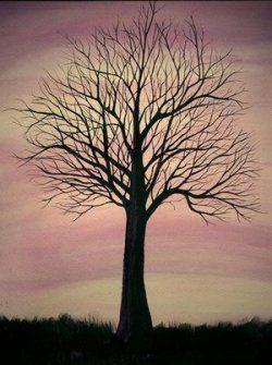 Create Tree Silhouette Paintings In 2020 Silhouette Painting Tree Silhouette Pictures To Paint