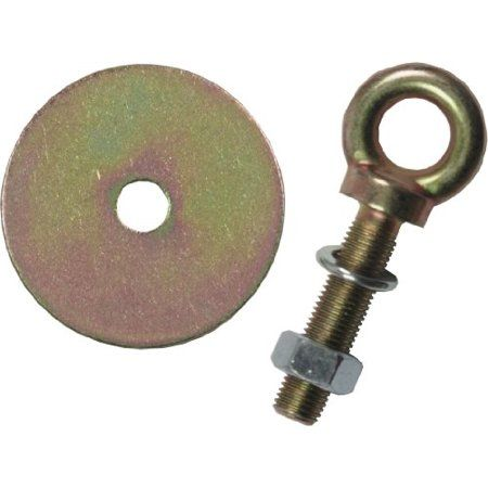 G Force 109l 1 2 Inch 50mm Eyebolt With Nut And Washer Size 2 Inch Silver Nuts Washers Washer Walmart Shopping