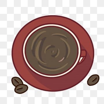 Red Top View Coffee Red Coffee Black Coffee Beans Creative Coffee Png Transparent Clipart Image And Psd File For Free Download Creative Coffee Coffee Illustration Coffee Clipart