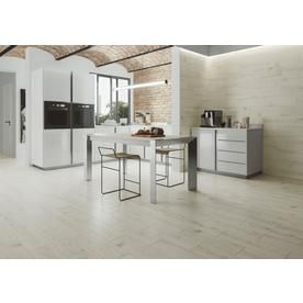 Ceramicas Tesany Piedmont Bianco White 8 In X 24 In Ceramic Wood Look Floor And Wall Tile Common 8 In X 24 In White Ceramic Tiles White Tile Floor Tile Floor