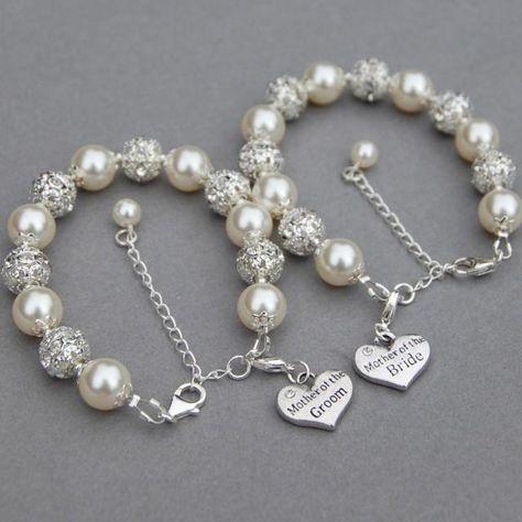 Mother of the Bride Bracelet, Mother of the Groom Bracelet, Trending Jewelry, Mother of Bride Gift, Romantic Wedding, Wedding Mother Gift