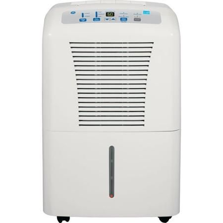 Ge 50 Pint Dehumidifier For Basements W Drain White Adew50lr