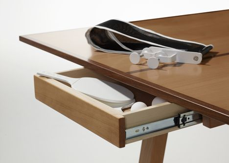 a ping pong table for design lovers | ping pong table, tables and, Attraktive mobel