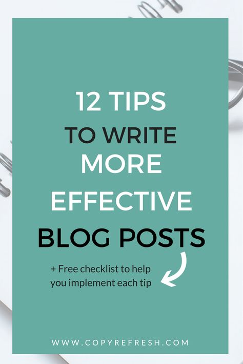 Blogging Success: Learn how to write engaging, incredible blog posts that boost your brand and business. Plus a FREE checklist to download!