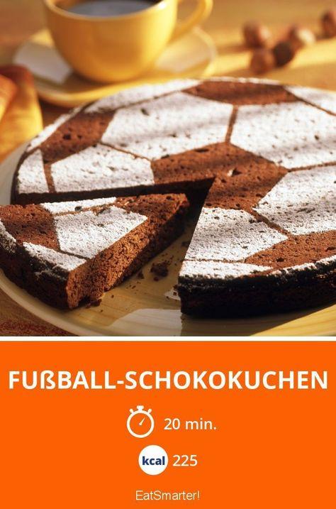 Photo of Fußball-Schokokuchen
