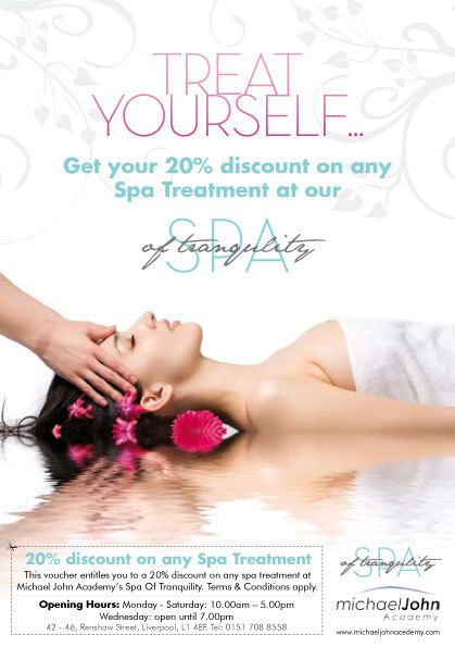 Spa Of Tranquility Poster On Behance  Spa Ad Flyer
