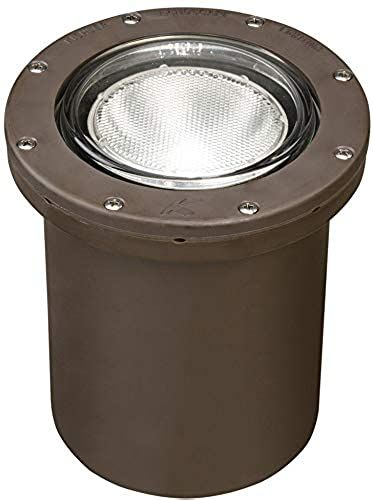 New Kichler 15268az Landscape 120 Volt Composite Landscape Inground Lighting Fluor Bronze Top Rated In 2020 In Ground Well Lights Led Landscape Lighting Well Lights