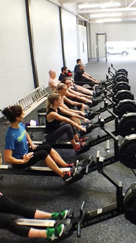 Rowing Machine Workout   Fitness and Exercise