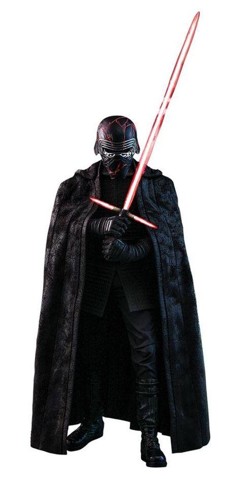 Star Wars Episode Ix Movie Masterpiece Action Figure 1 6 Kylo Ren 33 Cm In 2020 Star Wars Episodes Star Wars Collection Action Figures
