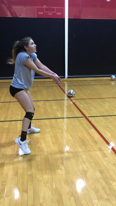 To Forearm Pass A Volleyball Accurately You Need To Control The Ball