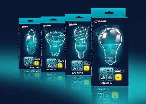 Tadiran lighting packaging pick of the day design illuminazione