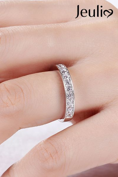 Check This Out From Jeulia Jeulia Simple Channel Set Sterling