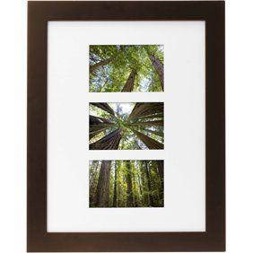 Mainstays Museum 16 X 20 Matted For 11 X 14 Picture Frame White Walmart Com Picture On Wood Wood Picture Frames Picture Frames