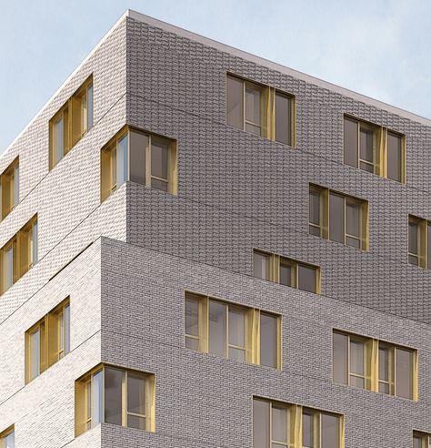 121 logements étudiants - Paris 20 : Nicolas Reymond Architecture & Urbanisme