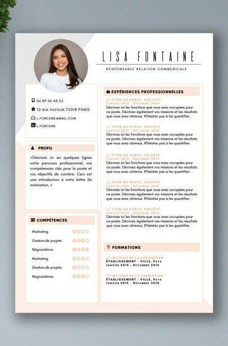 Exemples De Cv Plus De 20 Exemples De Cv Word Design Et Original Creative Cv Design Cv Templ Resume Design Creative Cv Design Creative Graphic Design Cv