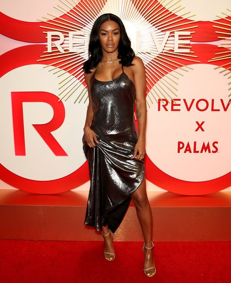 Actress/model Teyana Taylor attends Revolve's second annual #REVOLVEawards at Palms Casino Resort.