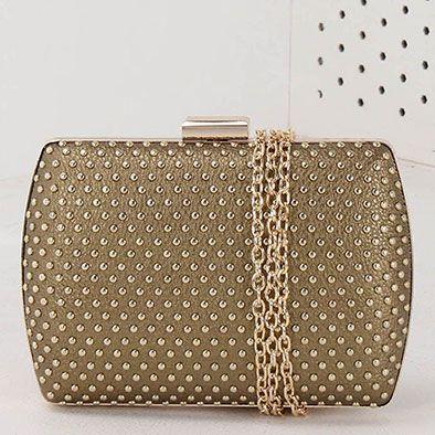 Bolsa Clutch Madame Marie - Dourado(A)