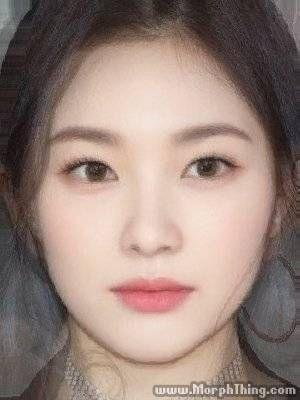 Yeji Tzuyu Chou Random Woman Perfect Face Jennie Gong Seungyeon Go Ara Irene Elisse Joson Chaeyeon Face Blender Face Makeup