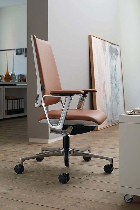Siege De Bureau Design Finition Cuir Chaise De Bureau Design
