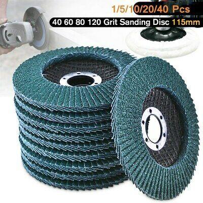 1//5//10x 80 Grit Sanding Wheel Disc Sandpaper Flap for Rotary Tools Polishing