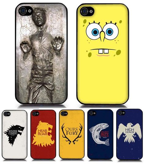 Jeux-concours – 3 coques iPhone à gagner ! (Han Solo Carbonite, Bob L'éponge, Game Of Throne)
