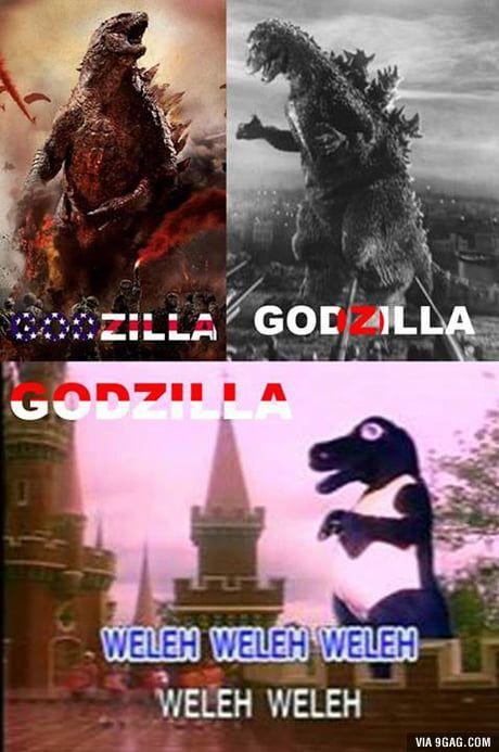 Indonesian Godzilla With Images Godzilla Funny Meme Quotes Memes