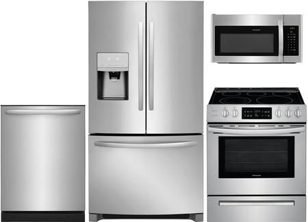 4 Peice Kitchen Appliance Package With Ffhd2250ts 36 French Door Refrigerator Ffeh3054us 30 Kitchen Appliance Packages Kitchen Appliances Minimalist Kitchen