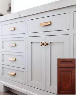 The Best Door Pulls To Enrich Your Modern Designs Grey Cabinets Kitchen Hardware Updated Kitchen