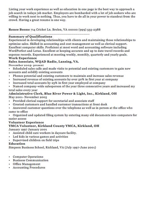 Housekper Resume my style Pinterest Housekeeper