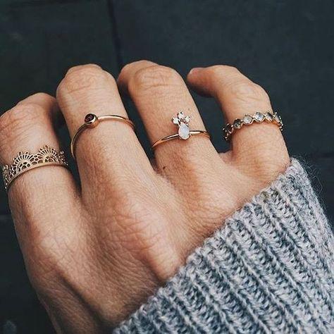 Sterling Silver Love Knot Empilage Anneau 925 Amitié Bande Femme Bijoux Cadeau
