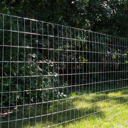 Yardgard 24 Inch By 25 Foot 16 Gauge 1 Inch By 1 Inch Mesh Galvanized Welded Wire Walmart Com Welded Wire Fence Wire Fence Wire Mesh Fence