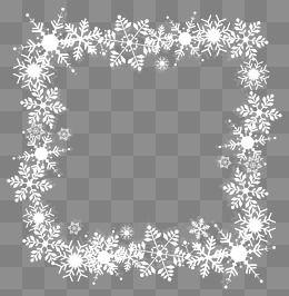 Snowflake Border Clip Art Page Border And Vector Graphics Cerceve Cerceveler Kartlar