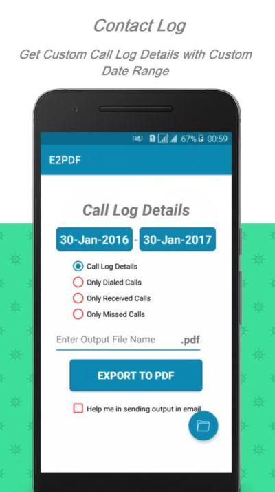 E2pdf 15 04 Backup Restore Sms Call Contact Sms Backup App