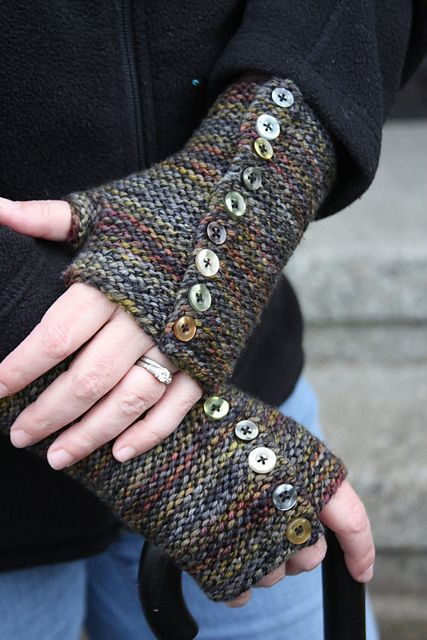 Axis Fingerless Mitts