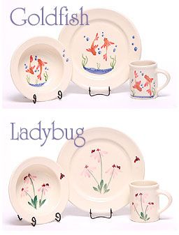 Protect your children from toxic plastic and dangerous lead with our beautiful USA-Made ceramic Children\u0027s Dinnerware at Emerson Creek Pottery | Pinterest ...  sc 1 st  Pinterest & Protect your children from toxic plastic and dangerous lead with our ...